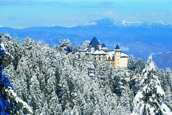 Exterior Winter Picture Of Wildflower Hall Shimla In