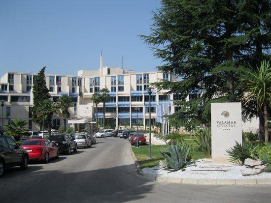 Valamar Crystal Hotel : hoofdingang