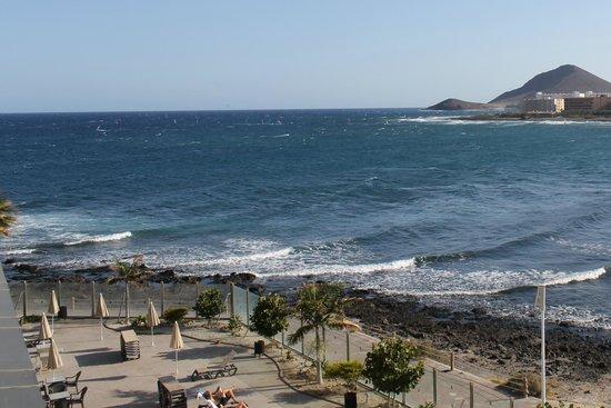 Hotel  Arenas del Mar: Vista desde la 219