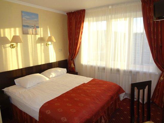 Amaks City Hotel : Кровать