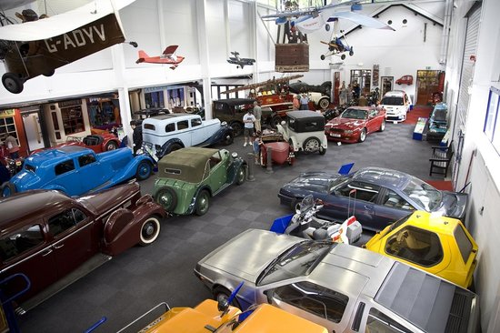 Lakeland Motor Museum: Part of the Main Display Hall