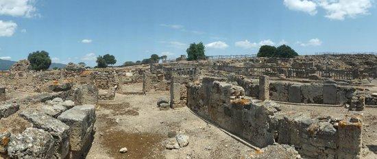 Pula, Italien: sito archeologico di nora