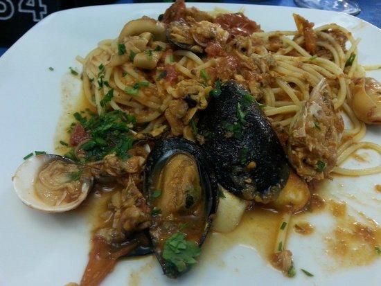 Hotel La Plage: Spaghetti di pesce