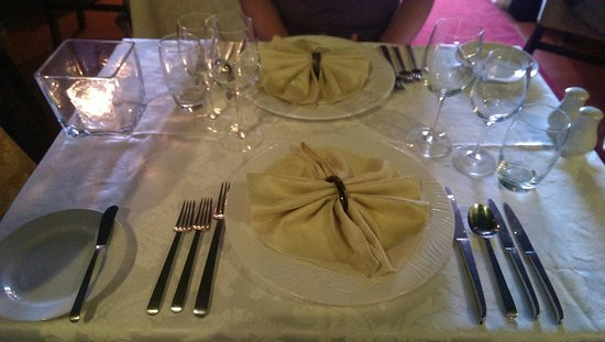 Restaurante Mozart : Table setting