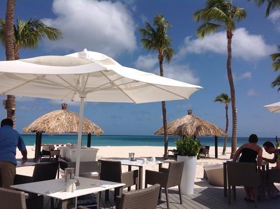 Bucuti & Tara Beach Resort Aruba: zona colazione
