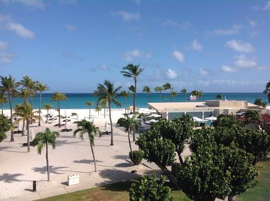 Bucuti & Tara Beach Resort Aruba : vista dalla stanza nr 259