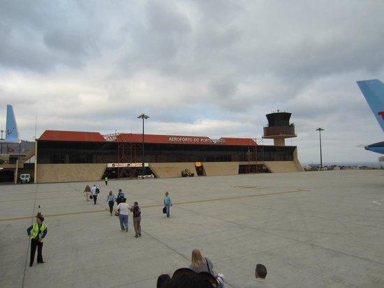 Pestana Porto Santo All Inclusive: airport