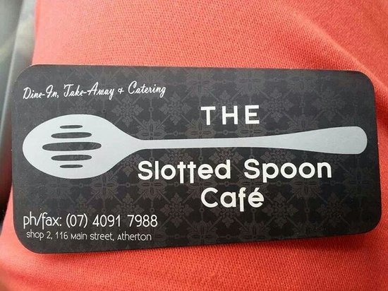The Slotted Spoon Cafe: .