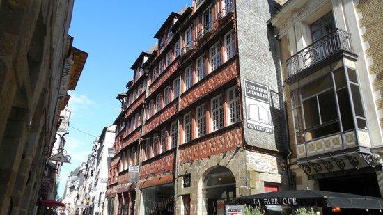 Centre Historique de Rennes : Maison a colombage