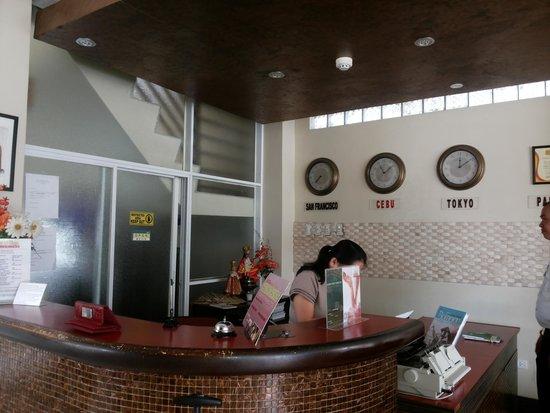 New Era Pension Inn Cebu: reception area