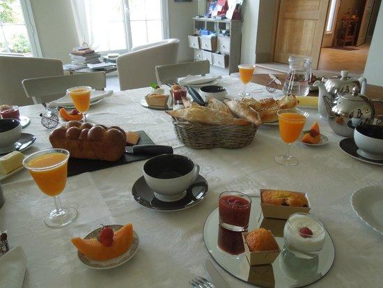La Maison du Carroir: sala colazione