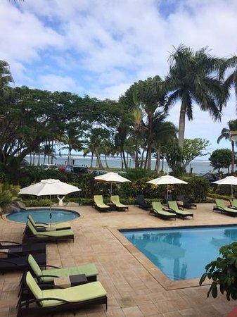 Bedarra Beach Inn: view from our standard room