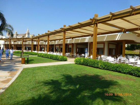 Baia Lara Hotel : lunch snack cabins