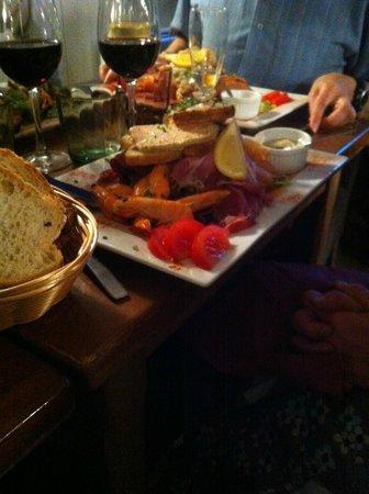Le Chaudron : Salades terre et mer