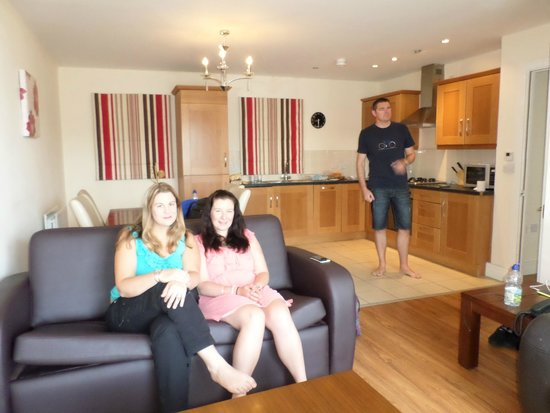 Cordia Serviced Apartments: The living area