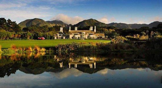 Wharekauhau Country Estate: Hotel View