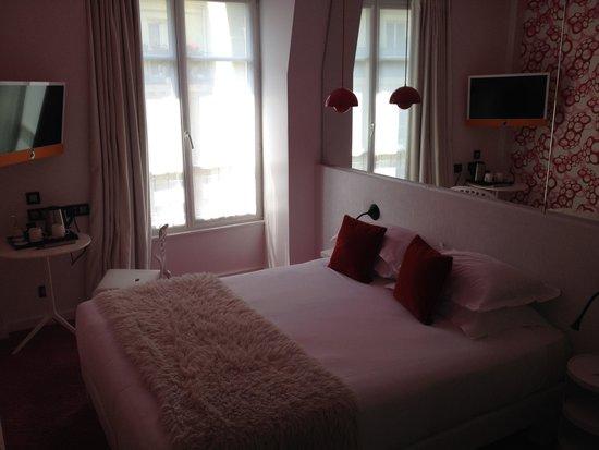Hotel Georgette : Chambre pop