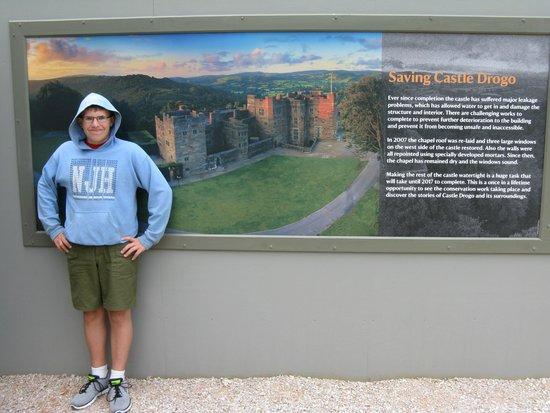Castle Drogo: Outside of the castle