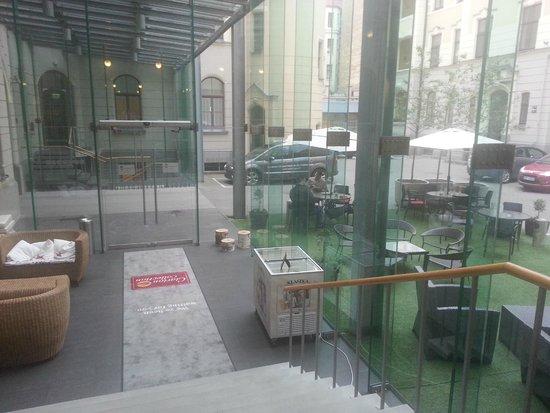 Clarion Collection Hotel Valdemars: Ingresso alla hall