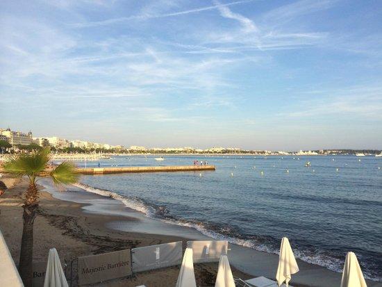 Hôtel Barrière Le Majestic Cannes : Croisette