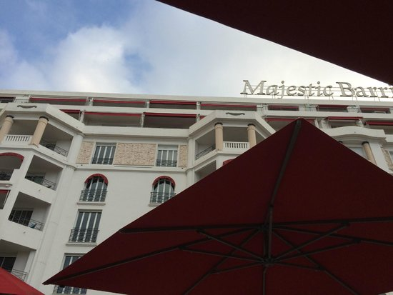 Croisette picture of hotel barriere le majestic cannes for Hotels barriere