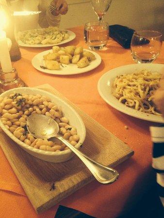 La Locanda del Prete: A table of Italian food!