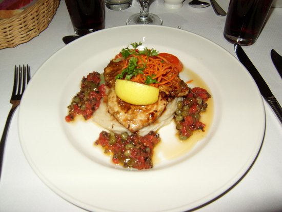 The Club, Barbados Resort and Spa: Really nice swordfish