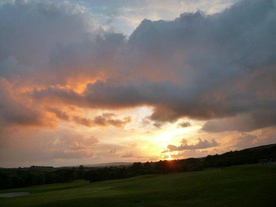 Lanhydrock Hotel and Golf Club : sunset
