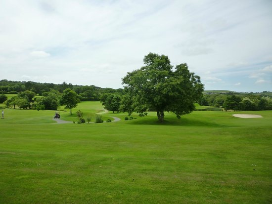 Lanhydrock Hotel and Golf Club : golf course from room