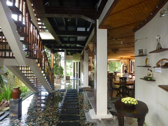 Junjungan Ubud Hotel and Spa: Dining area
