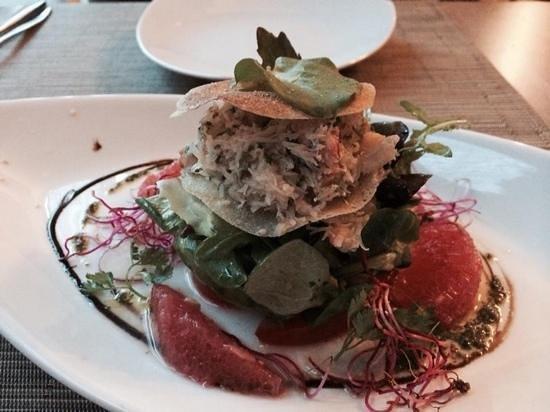 L'Alambic : crab starter plate