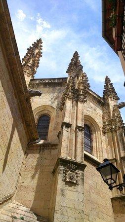 Cathedral of Segovia: Vista desde la judería