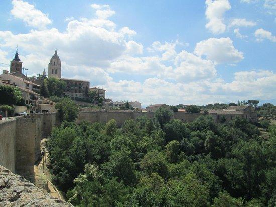 Cathedral of Segovia: Desde el Mirador de los Clamores