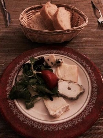 L'Alambic : Fromage plate