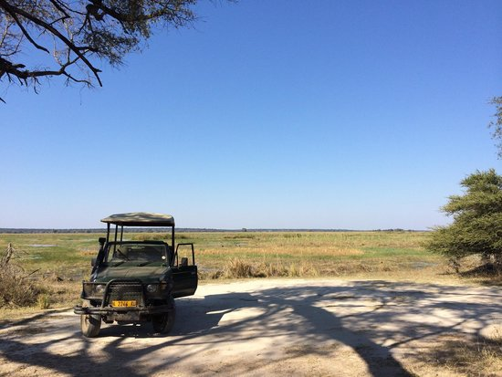 Caprivi Region, Namíbia: Beautiful riverine scenery