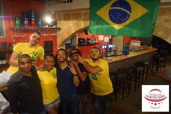 La Petite Scène : L'équipe  coupe du monde
