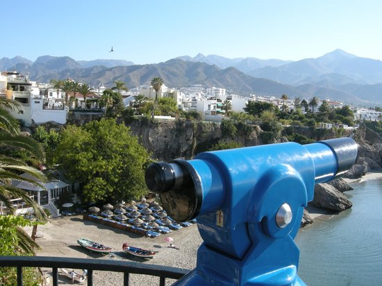 Hotel Balcon de Europa: view from outside the hotel