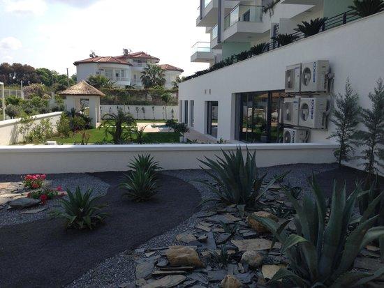 Q SPA Resort: garden view