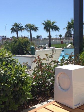 Q SPA Resort: restaurant view (pool)