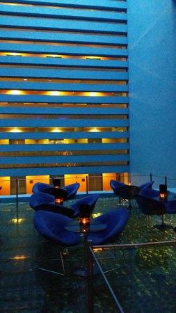 Camino Real Polanco Mexico: Blue Lounge