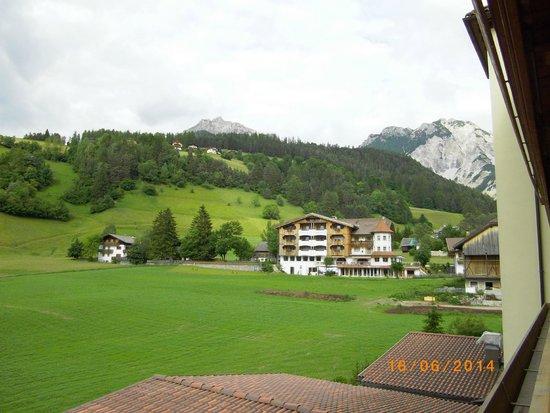 Wellnesshotel Almhof Call: Vom Balkon