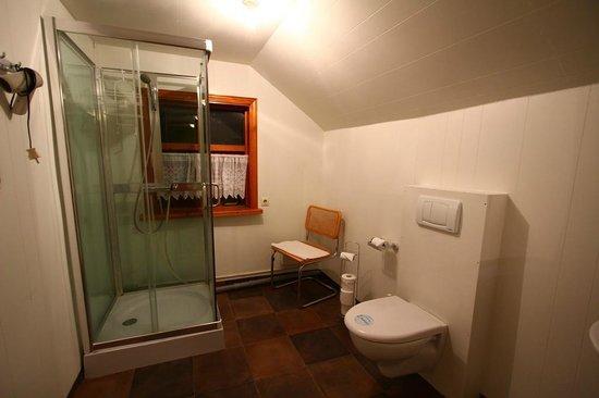 Nypugardar Guesthouse: shared bathroom