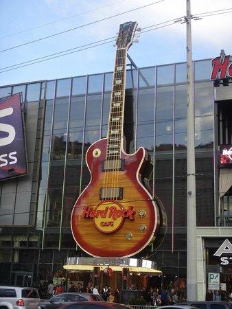 Hard Rock Cafe: unverwechselbar