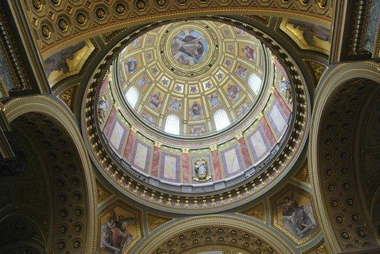 St. Stephen's Basilica (Szent Istvan Bazilika): Dome