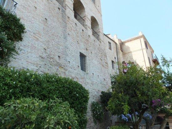 View above Casa Pazzi