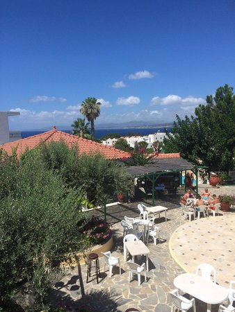 Hotel Pefkos Garden: View from room 903