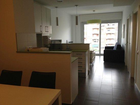 08028 apartments: Looking from the door