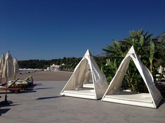 Club Med Palmiye : one of the beaches