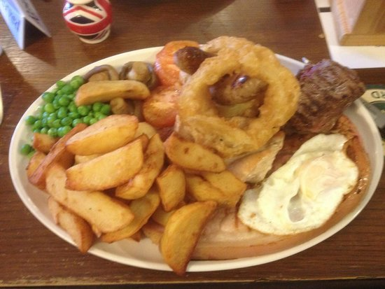 The Tiger Inn Beverley: The Large Mixed Grill - An Adventure on a plate.