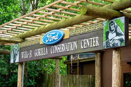 Zoo Atlanta : A lot was sponsored by Ford :)